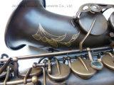 Saxophone alto--Archaize, tampons Pisoni du corps en bronze