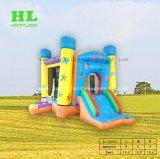 Het Springen van Bouncy Catsle van het Spel van het voetbal Huis Opblaasbare Combo voor Jonge geitjes