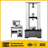máquina de teste universal elástica computarizada 30kn dos compostos eletrônicos da fibra do carbono