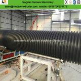Macchina di espulsione ondulata ferireita spirale del tubo del PE del grande diametro