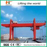 Type d'U grue de portique de faisceau de double de yard de conteneur de 50 tonnes