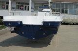 Barco de pesca dos esportes de Aqualand 21feet 6.3m/barco prazer da velocidade (205c)