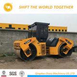 中国18トンの道のコンパクターの工場倍のドラム道のコンパクター