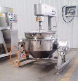 Acero inoxidable automático de la calefacción de gas de la máquina de mezcla de cocina