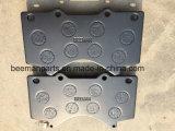 Toyota Prado D2278를 위한 반 금속 자동차 부속 브레이크 패드