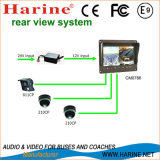7 pouces Color Bus / Car Rearview Monitor