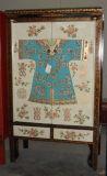 De antieke Houten Geschilderde Garderobe Lwa442 van het Meubilair