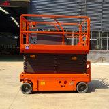 Tijera autopropulsada la plataforma de elevación para la planta alta el trabajo de buena calidad y bajo precio venta caliente