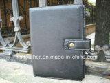 Журнал дневника съемной кожаный тетради связывателя кольца изготовленный на заказ