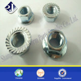 Noz de flange hexagonal DIN6923 de alta intensidade 10.9