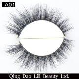 Lili 아름다움 도매 무료 샘플 주문 개인 상표 3D 밍크 가짜 속눈썹