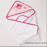 승진 면 아기 두건이 있는 목욕 수건은 담요를 싼다