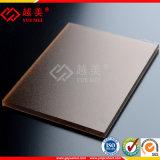 Cubierta de techo curvada con láminas de policarbonato