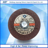 Истирательный диск вырезывания нержавеющей стали для металла