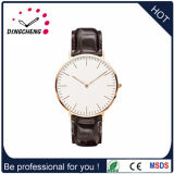 (DC-140) Le plus récent mode européen de la mode Soft PU Leather Men Sport Watch