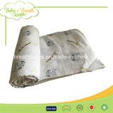 Ms099 мягкой стороны ощущение хлопка Терри ткани одеяло на кровать