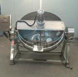 Bouilloire revêtue de chauffage au gaz de 100 litres faisant cuire le bac (ACE-JCG-AB)