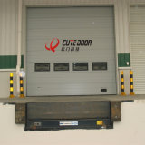 Промышленные автоматические используемые надземные секционные двери гаража