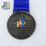 De bonne qualité a annoncé la médaille en bronze faite sur commande en alliage de zinc de souvenir