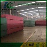 MDF влаги упорный 3-18 mm зеленого цвета для мебели