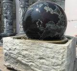 カスタマイズされた自然な花こう岩または大理石の石造りのロール・ボール水噴水