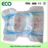 Couches-culottes remplaçables de bébé de vente chaude élevée confortable d'absorption