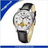 2017熱い販売の自動ステンレス鋼の腕時計