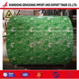 El tamaño de Custom-Made Prepainted Hoja de Acero Galvanizado/Color/PPGI bobinas de acero recubierto de