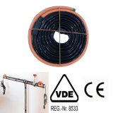 16W / M del tubo de agua Cable de calentamiento para tuberías congeladas