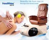 De gemakkelijke Gebruikte Chocoladebruine Prijs van de Machine van de Massage van de Voet