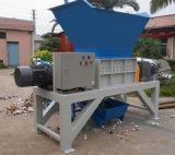 Desfibradora doble del eje para el terrón plástico, película, barril, madera, destrozo de papel
