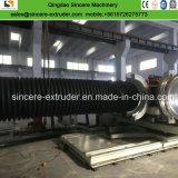 Труба из волнистого листового металла стены HDPE \ PP двойная делая линию \ линию тубопровода дренажа Dwc