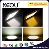 暖かい白4000k屋内LEDのパネル18W 8inch Downlightの工場か製造業者