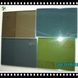 녹색/청동/색을 칠하는 유리제이라고 회색/파란 플로트 유리
