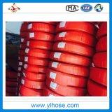 R1 tressé hydraulique haute pression flexible en caoutchouc