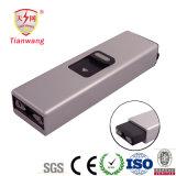 A defesa quente do injetor de choque eléctrico das vendas com lanterna elétrica do diodo emissor de luz Stun injetores