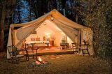 Tente de luxe lourde de Glamping de tente de Bell de toile