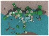 Спортивная площадка любимейших привлекательностей детей Kaiqi пластичная напольная для ярда, заднего двора и парка атракционов школы