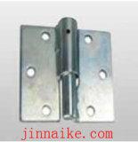 鉄の円形の版が付いている調節可能なゲートのヒンジ
