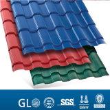 Vorgestrichene gewölbte Gi-Farben-Dach-Blätter für Verkaufspreis in Sri Lanka