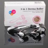 Venta caliente 3 en 1 cuidado de piel del rodillo de Derma Dermaroller