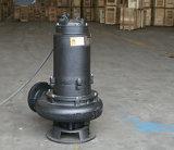 열 유형 임펠러 잠수할 수 있는 하수 오물 펌프