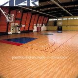 De binnen Professionele Bevloering van pvc van Sporten die in Basketbal /Tennis/ wordt gebruikt