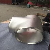 Te de los Ss del acero inoxidable de las instalaciones de tuberías Ss321 SS304 SS316