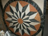 Marble naturale Stone Mosaic Medallion/Waterject per Flooring