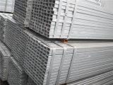 Pijp van het Staal van de koolstof Hot-DIP Gegalvaniseerde Vierkante