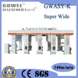 Ultra-Width ordinateur spécial de l'impression Appuyez sur pour le film en plastique (GWASY-K)