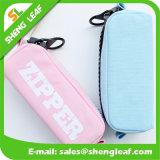 Heißer Verkaufs-Feder-Beutel mit Reißverschluss-verschiedenen Farben (SLF-PB007)