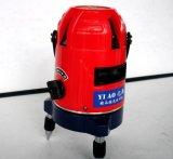 Linha 5 360 Graus de rotação Nível laser vermelho para o exterior e interior
