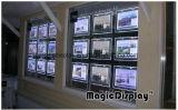 Affichage à cristaux de publicité pour l'immobilier